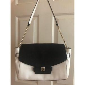 Kate Spade black and White Shoulder Bag